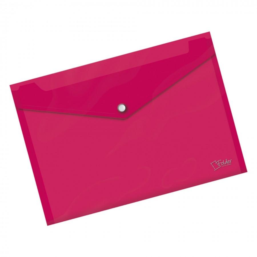 Sobre Rosa Broche A4 Folder