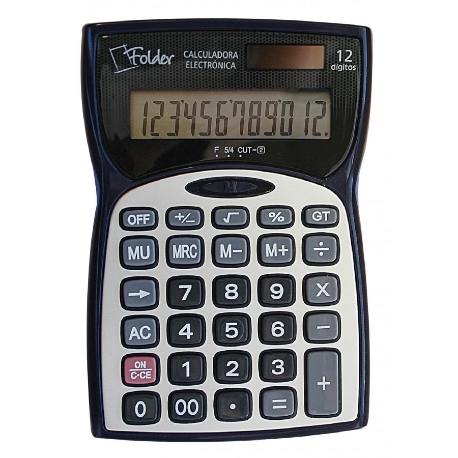 Calculadora 12 Digitos Folder Pequeña