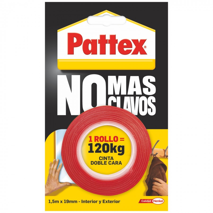 Pattex No Más Clavos Cinta Doble Cara