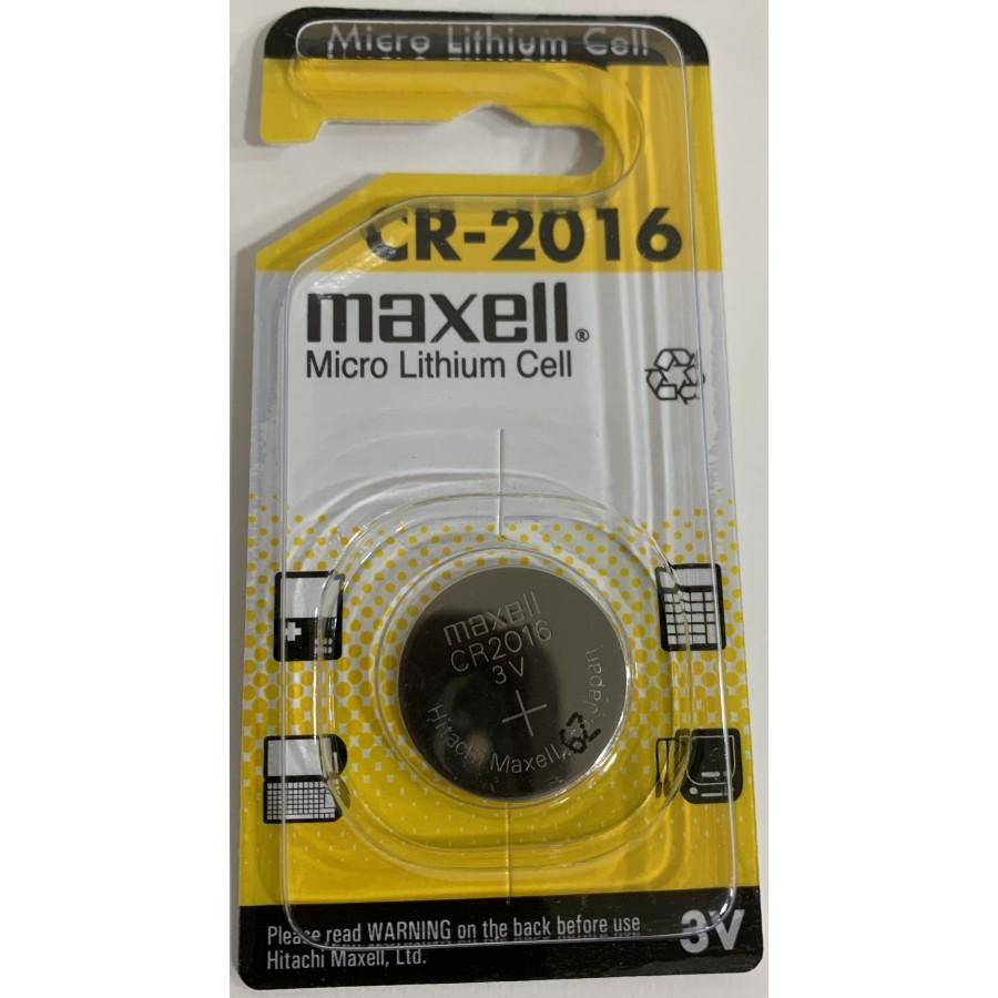 Maxell Pila Boton Litio Cr2016 3V Blister 1