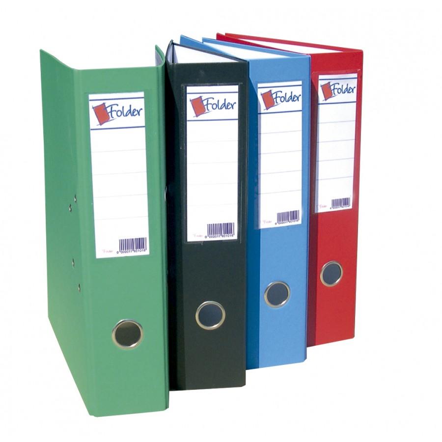 Archivador Azul Folder Color Folio Ancho